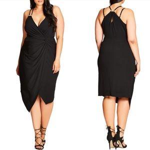 NWT City Chic Dress So Seductive Black Dress